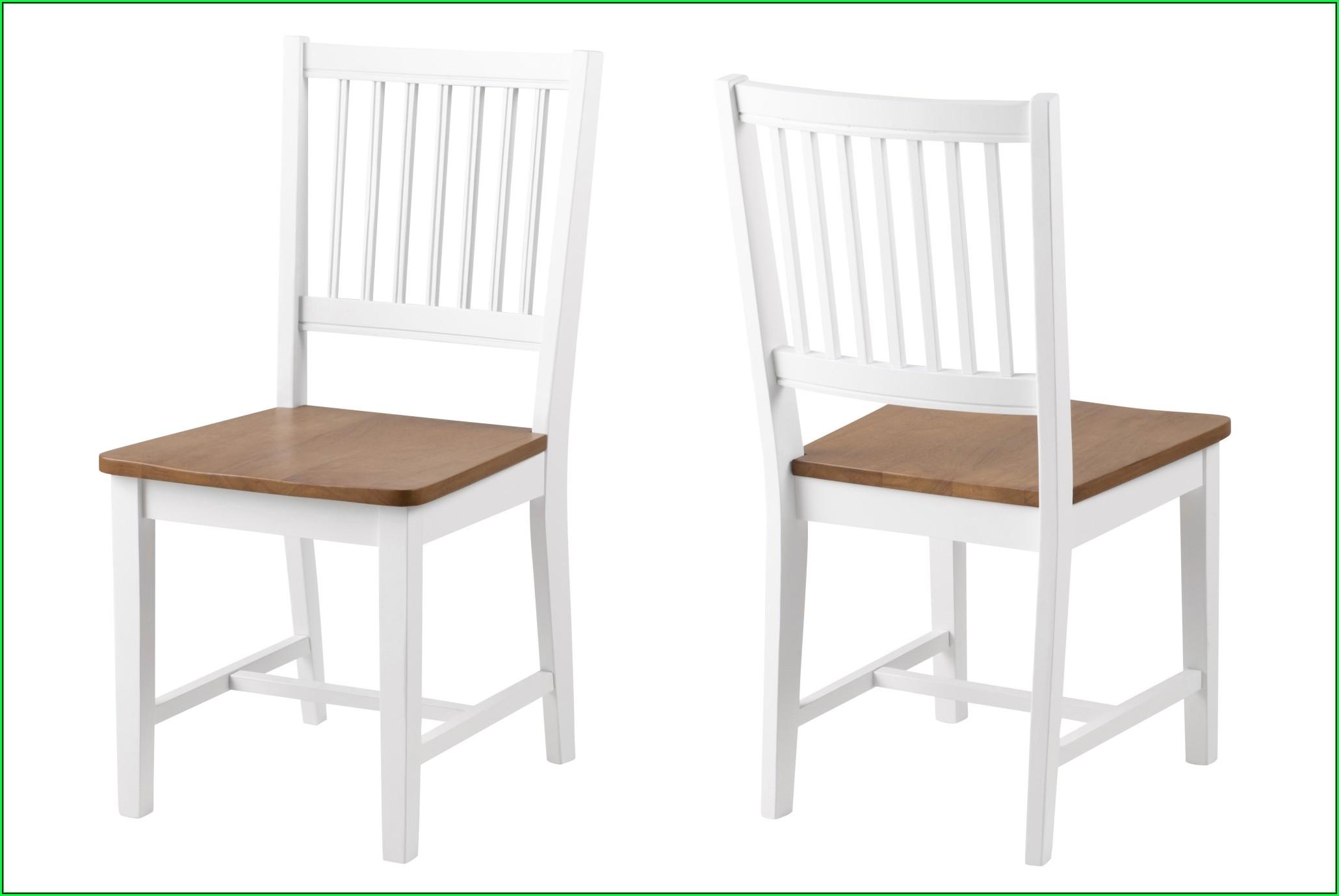 Esszimmer Stuhl Weiß Eiche