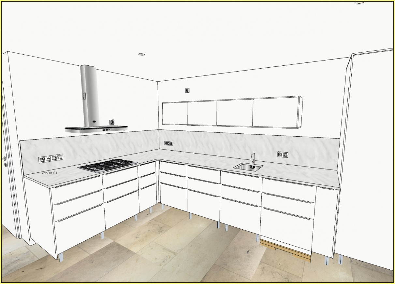 Idee Spritzschutz Küche