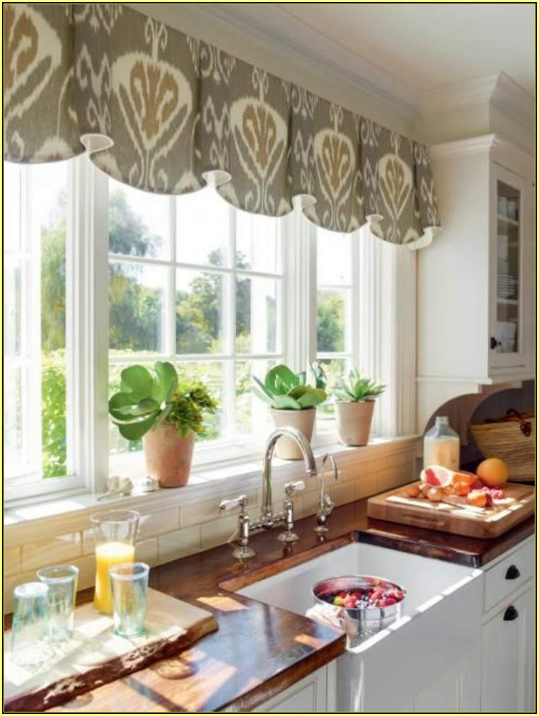 Ideen Für Vorhänge In Küche