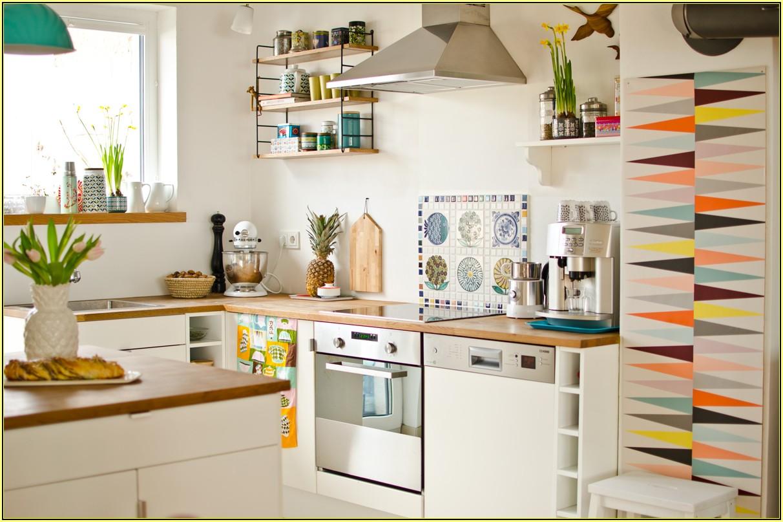 Ideen Küche Tapezieren