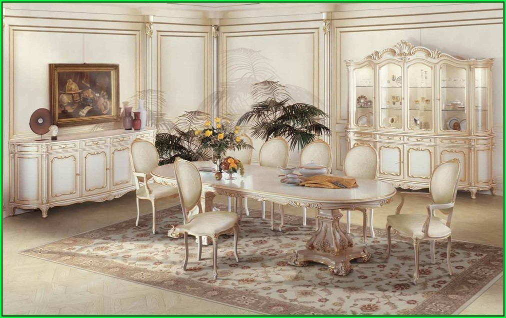 Italienische Esszimmer Stühle