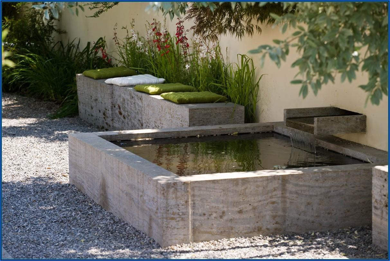 Kleine Brunnen Für Die Terrasse