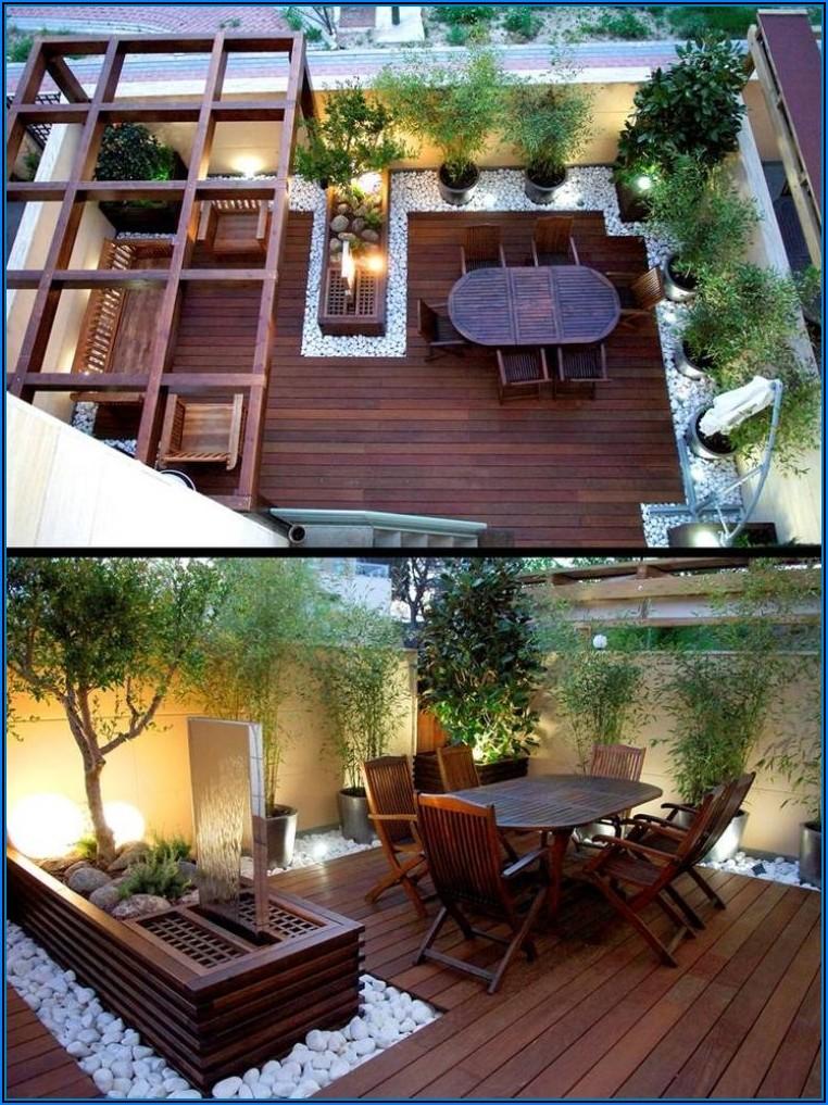 Kleine Garten Terrasse Gestalten
