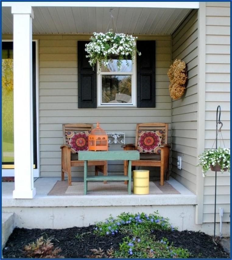 Kleine Sitzecke Terrasse