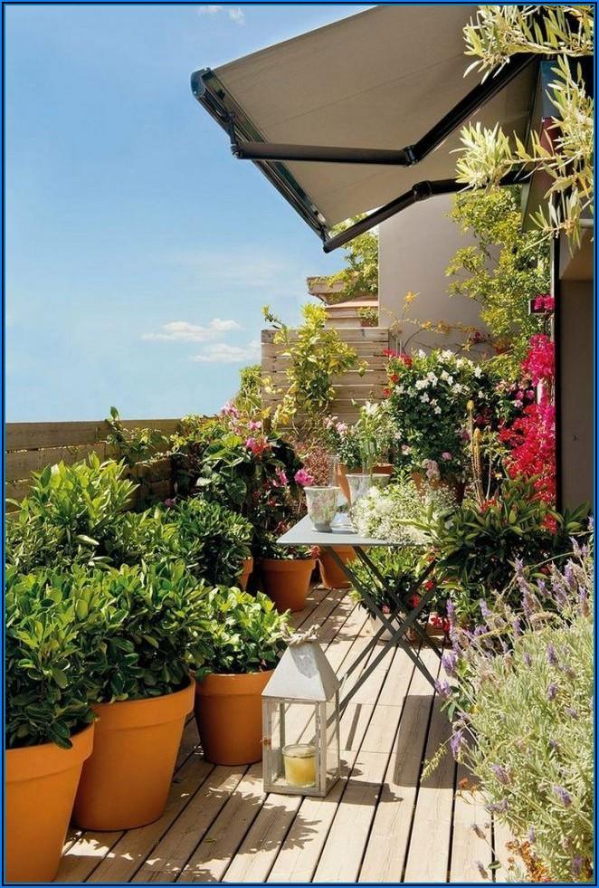 Kleine Terrasse Mediterran Gestalten