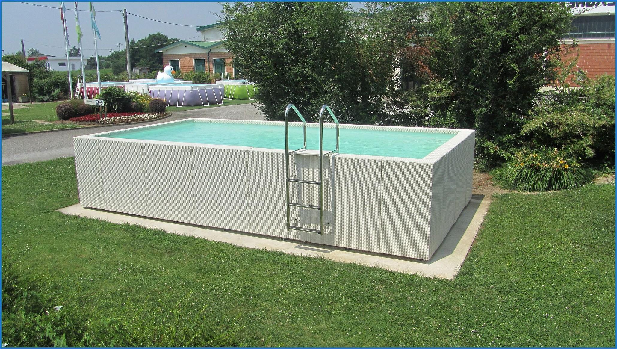 Kleiner Aufstellpool Für Terrasse