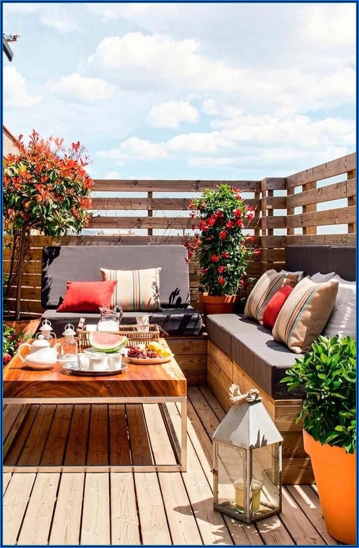 Kleiner Garten Große Terrasse