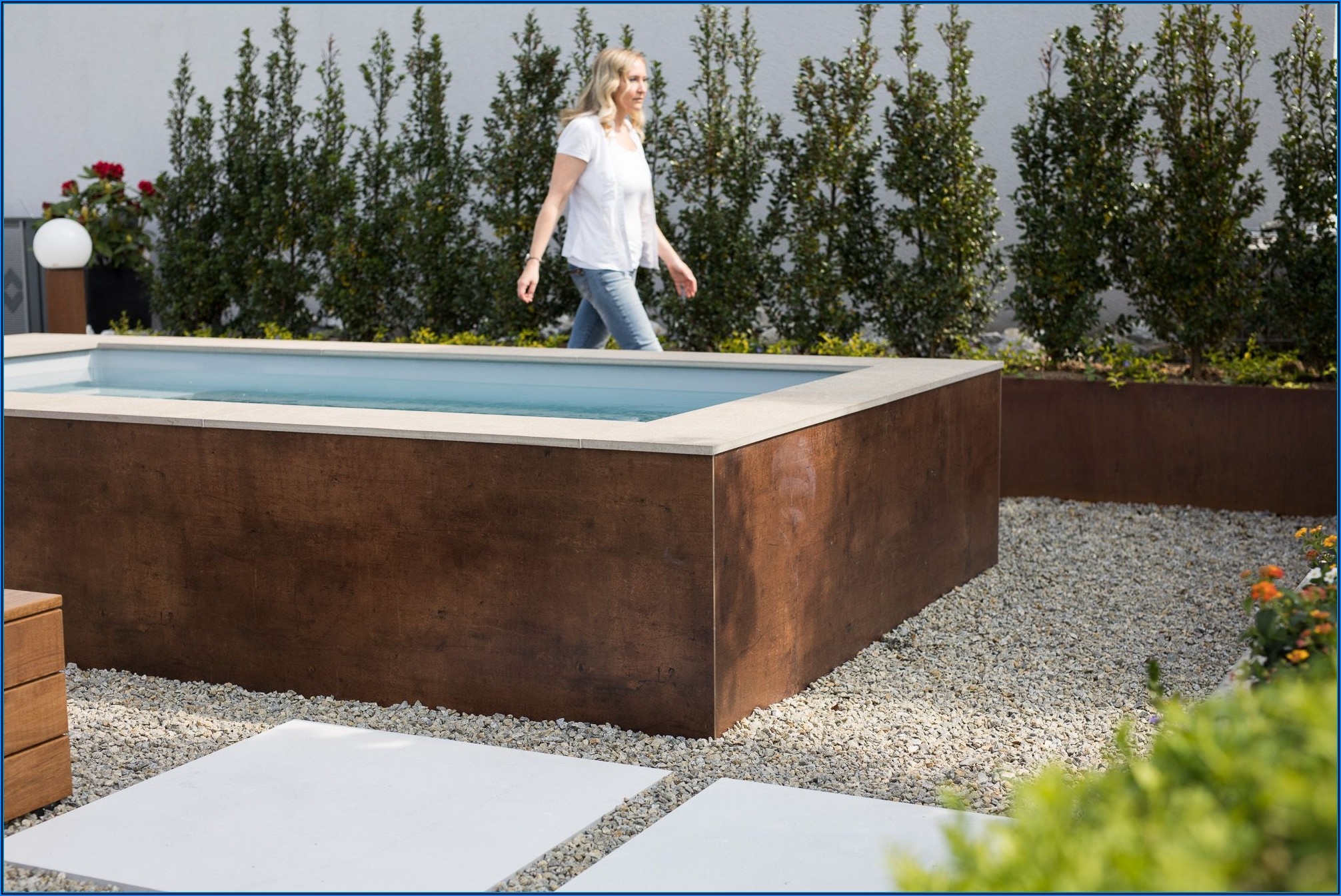Kleiner Pool Für Die Terrasse