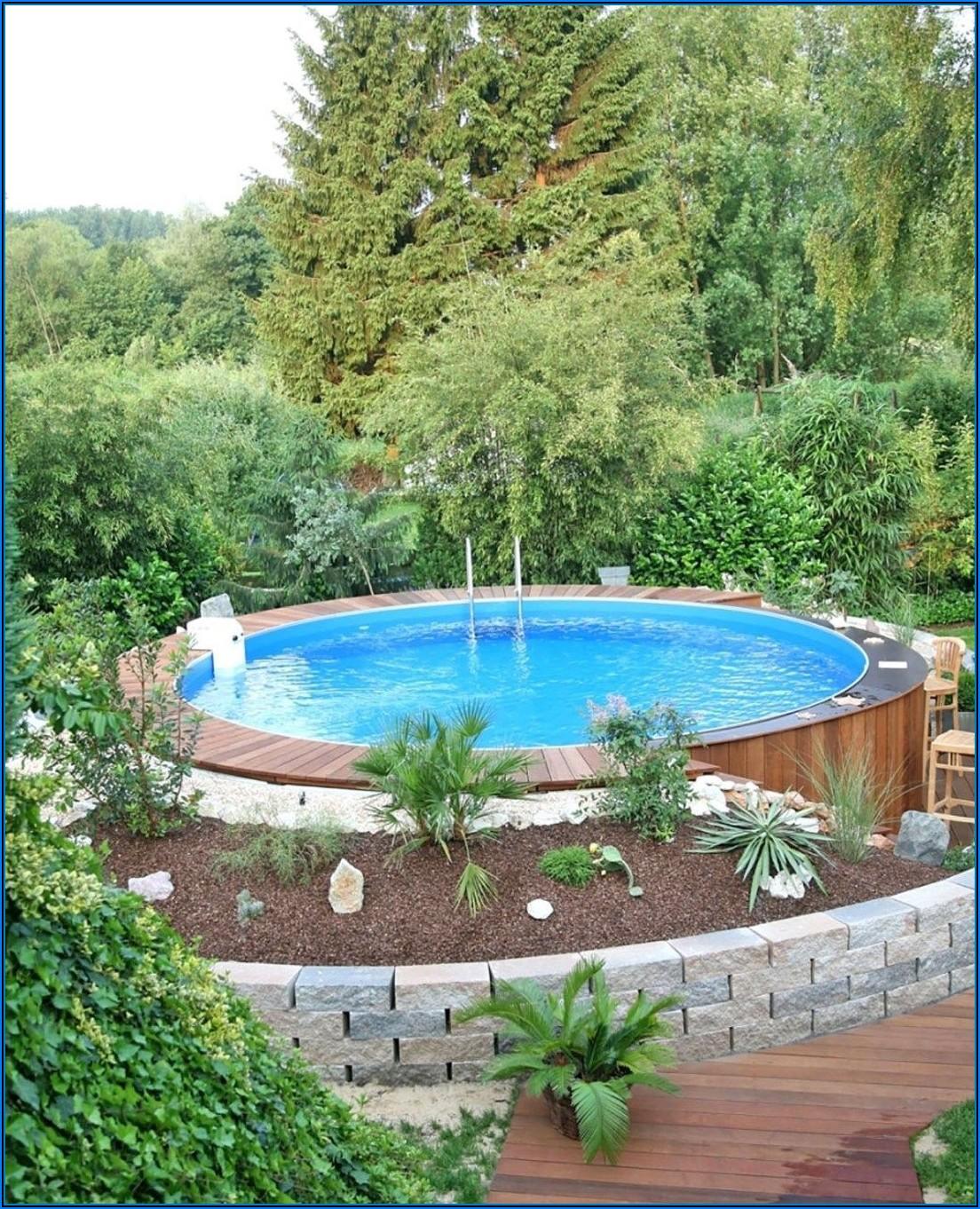 Kleiner Pool In Terrasse Integriert