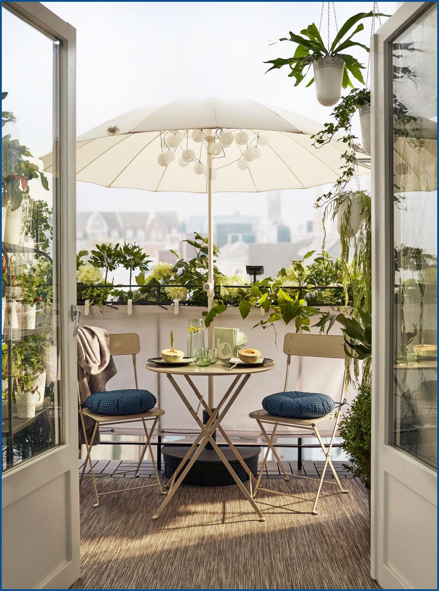 Kleiner Tisch Terrasse