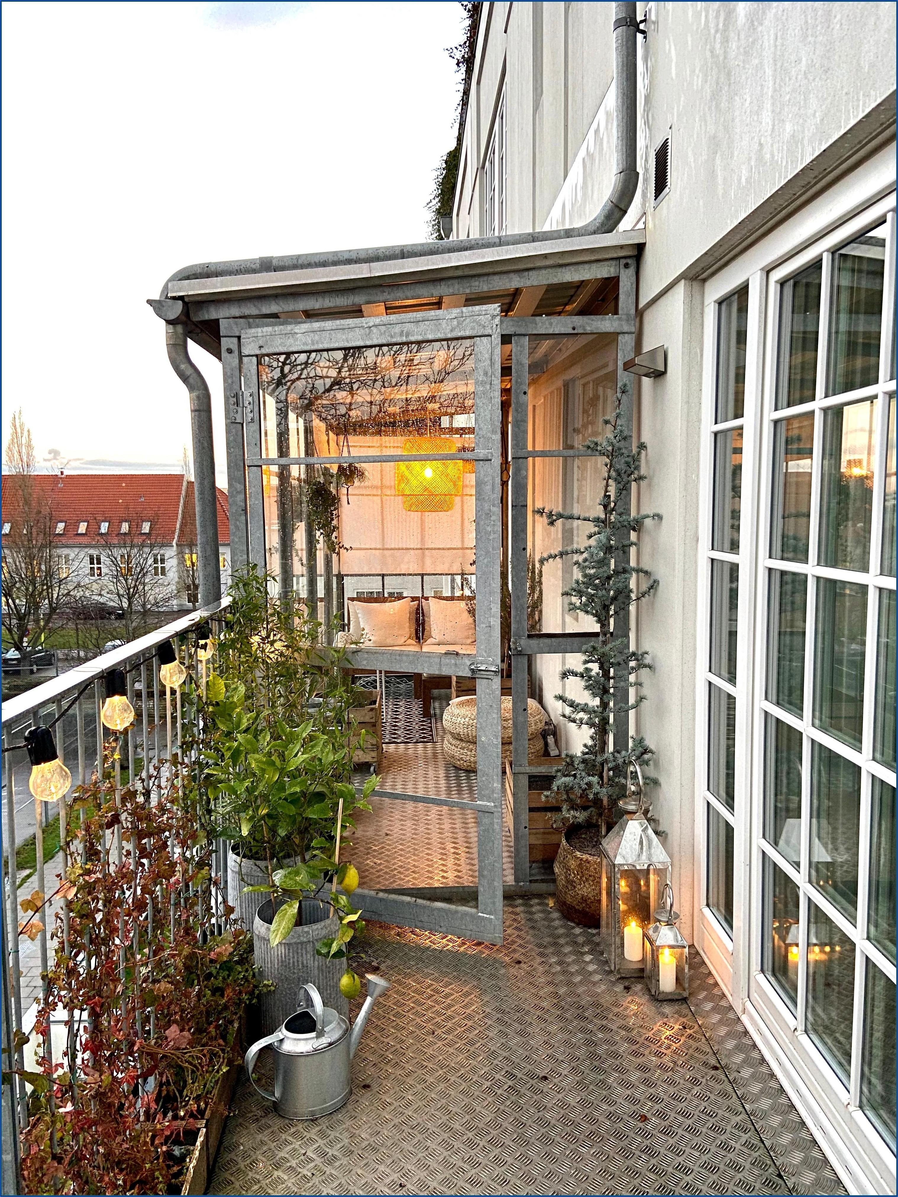 Kleiner Wintergarten Auf Terrasse