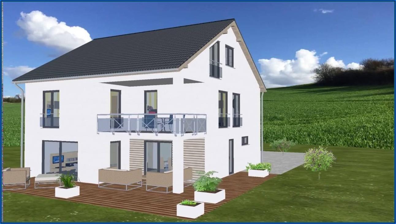 Kleines Haus Mit überdachter Terrasse