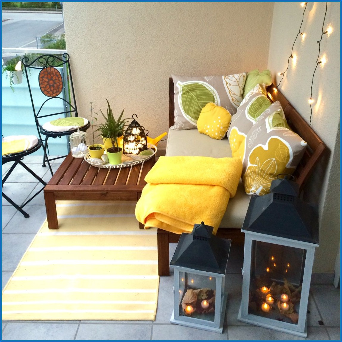 Lounge Möbel Für Kleine Terrassen