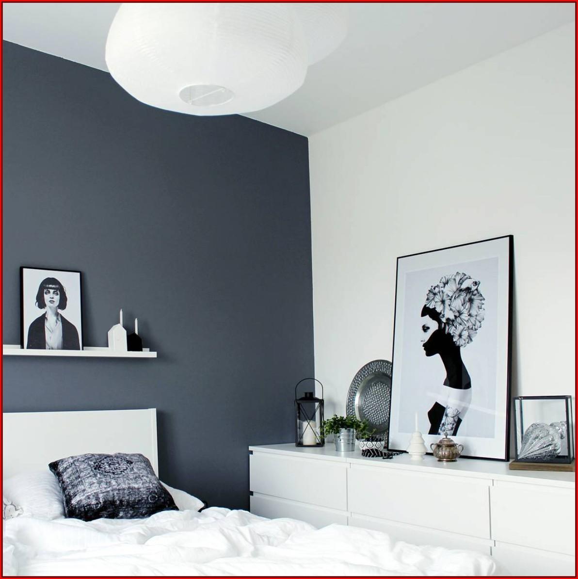 Schlafzimmer Ideen Weiß Schwarz