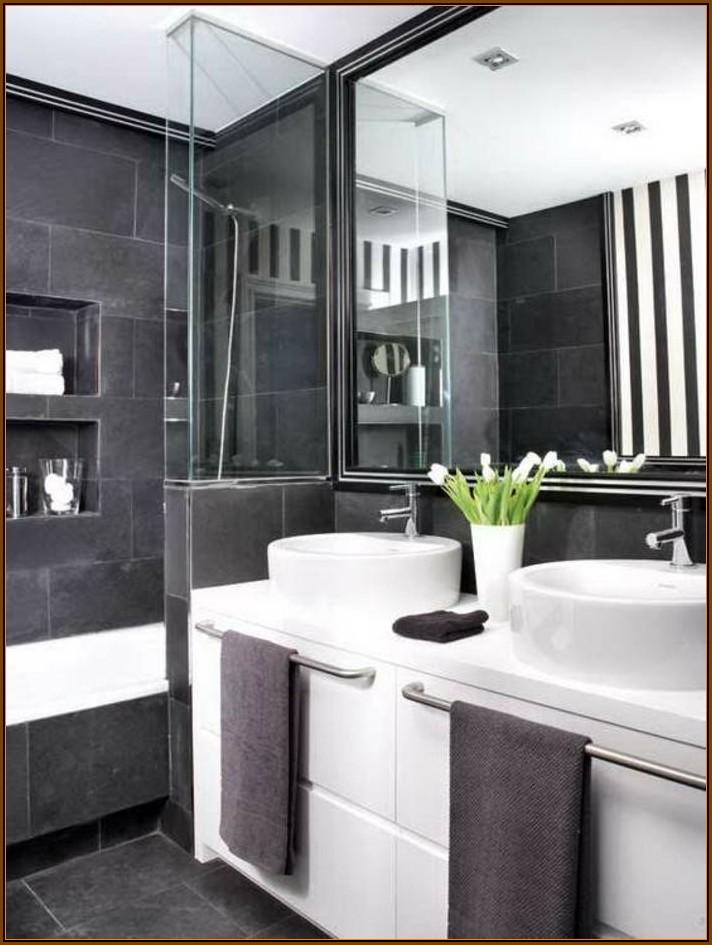 Schwarz Weiß Bilder Für Badezimmer