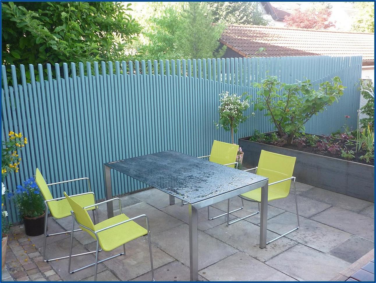 Sichtschutz Für Kleine Terrassen