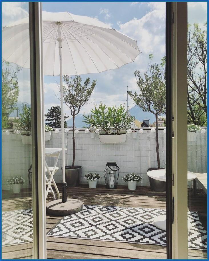 Sonnenschirm Für Kleine Terrasse