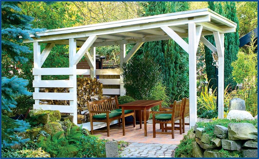 Terrassenüberdachung Kleiner Garten