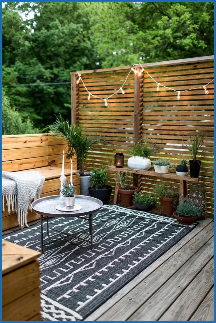 Terrassengestaltung Kleine Terrassen