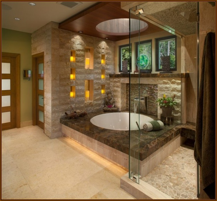 Wand Ideen Badezimmer