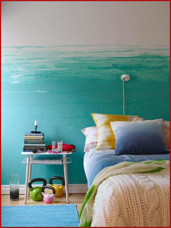 Wandmuster Ideen Schlafzimmer