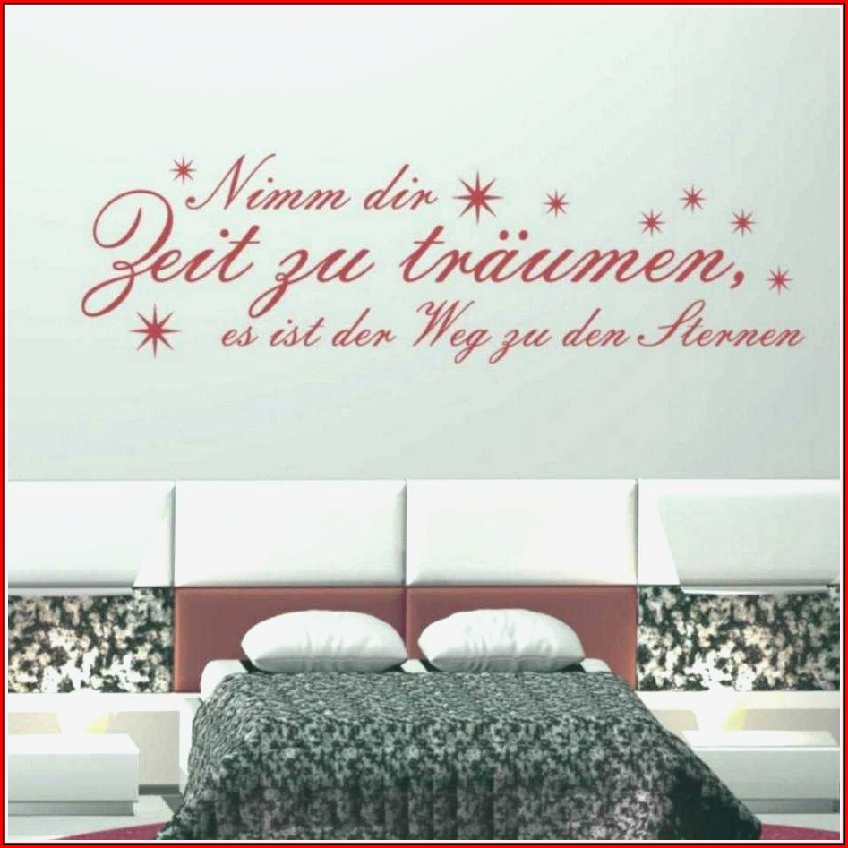 Wandtattoo Ideen Schlafzimmer