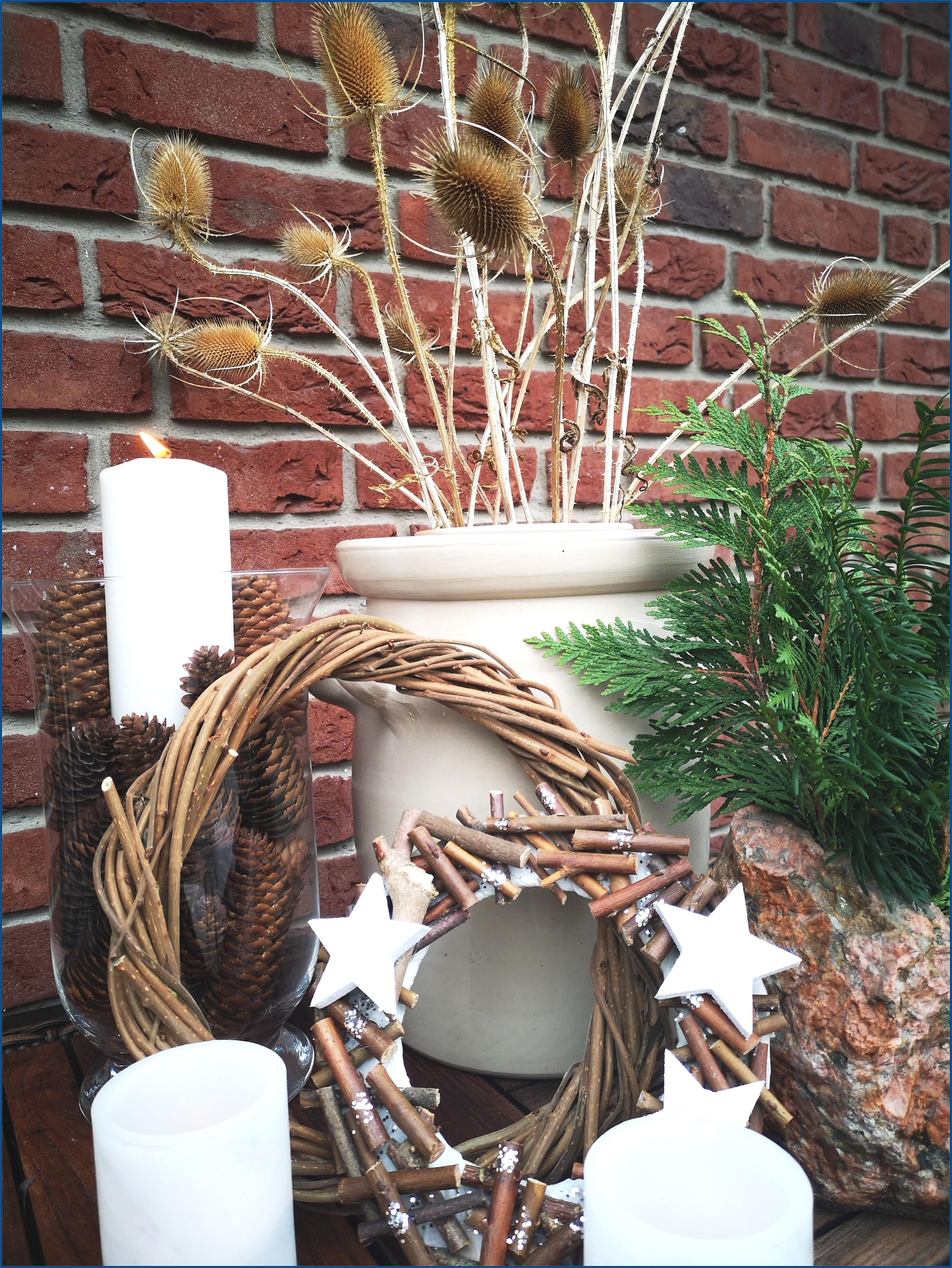 Weihnachtsdeko Ideen Terrasse