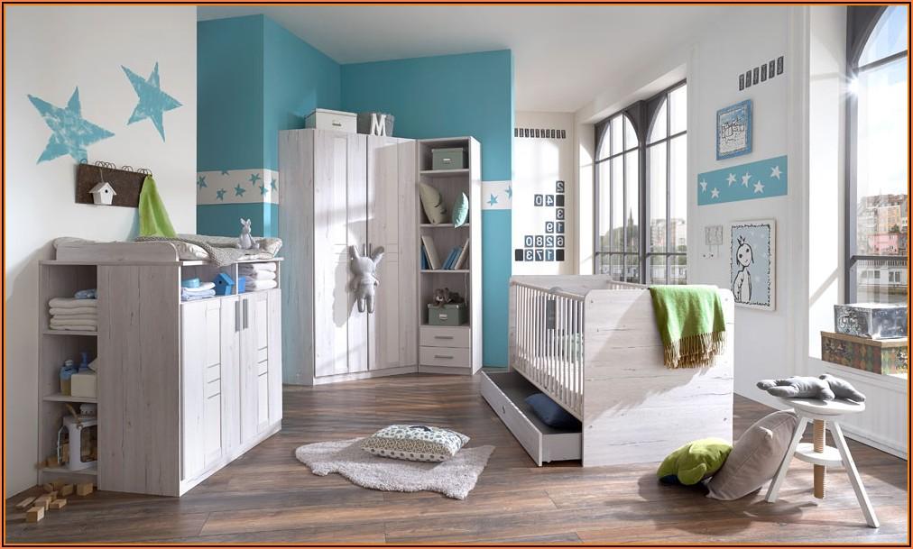 Babyzimmer Junge Türkis Grau Babyzimmer House und