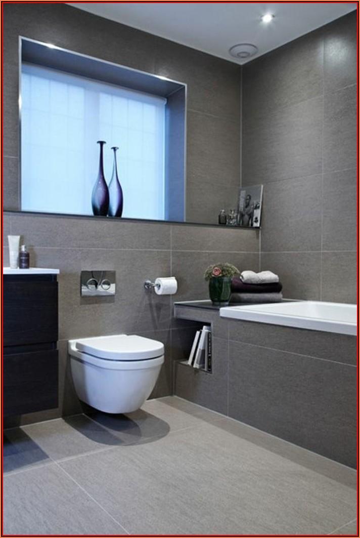 Badezimmer Deko Grau