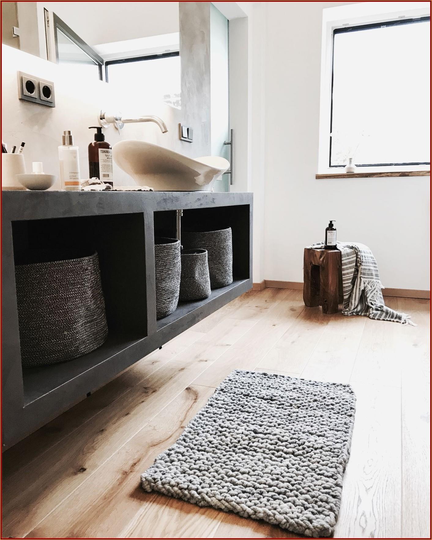 Badezimmer Deko Ideen Grau