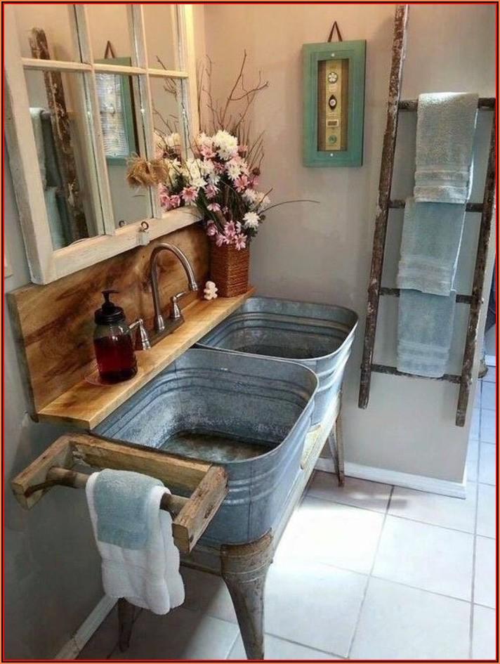 Badezimmer Deko Landhausstil