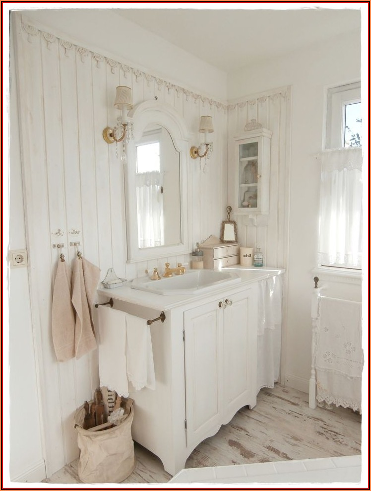 Badezimmer Dekoration Shabby Chic