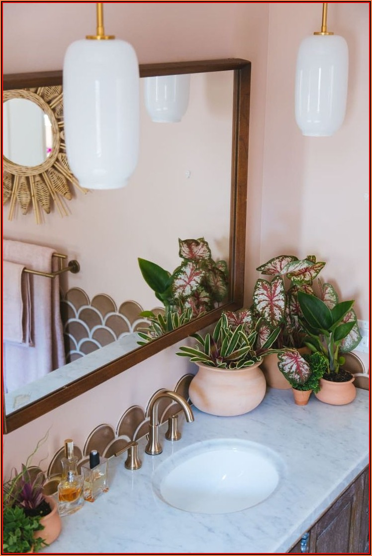 Badezimmer Rosa Dekorieren