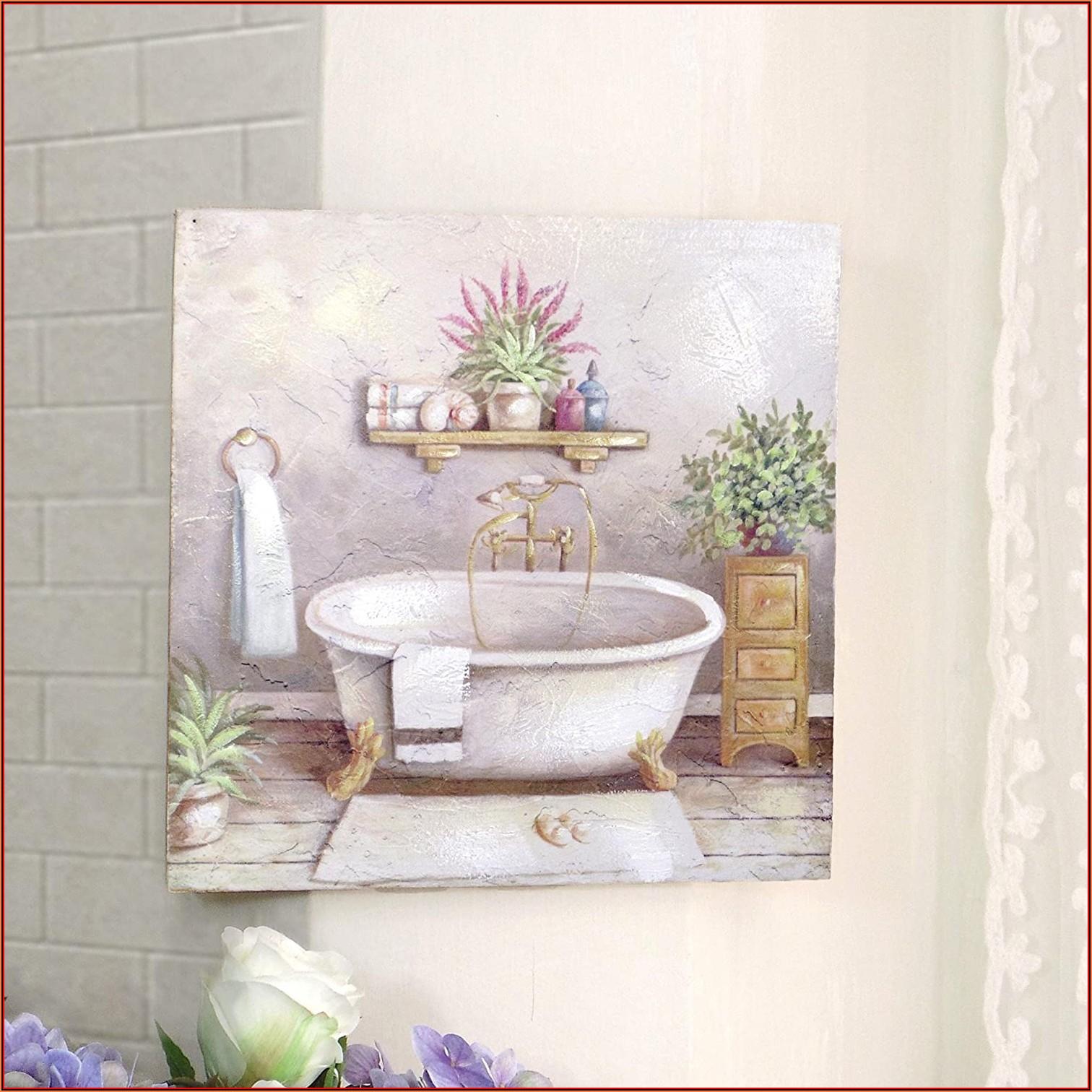 Bild Leinwand Badezimmer