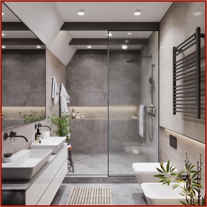 Deko Für Grau Weißes Badezimmer