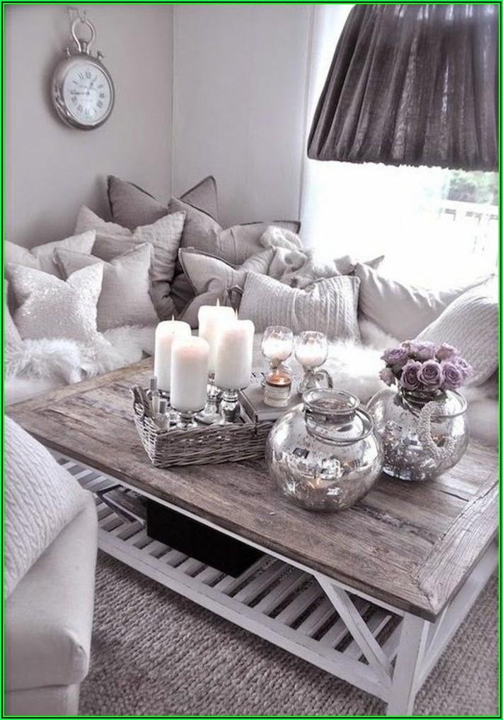Deko Ideen Wohnzimmer Grau