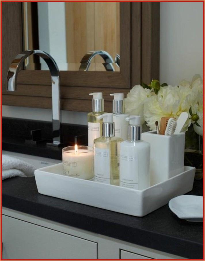 Kerzen Deko Badezimmer