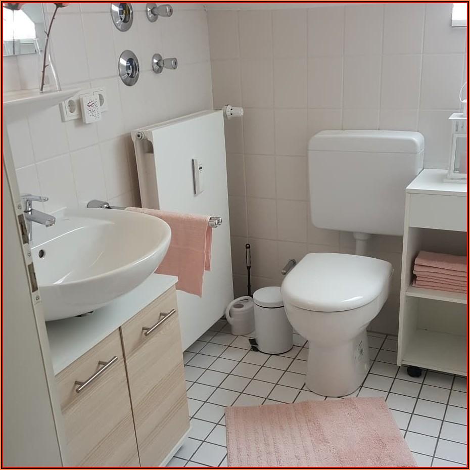 Pinke Badezimmer Deko