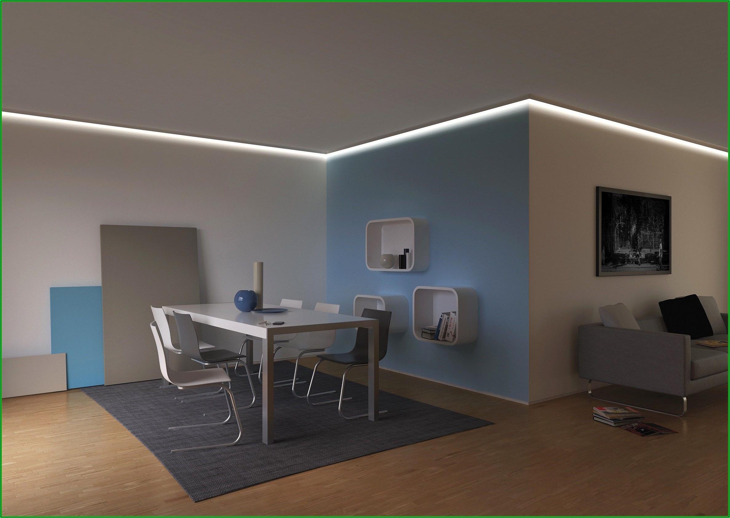 Wohnzimmer Ideen Indirekte Beleuchtung