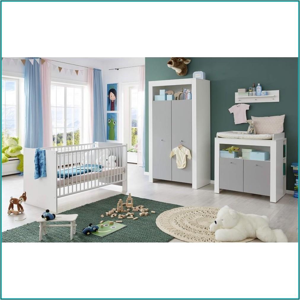 Babyzimmer 3 Teilig Grau