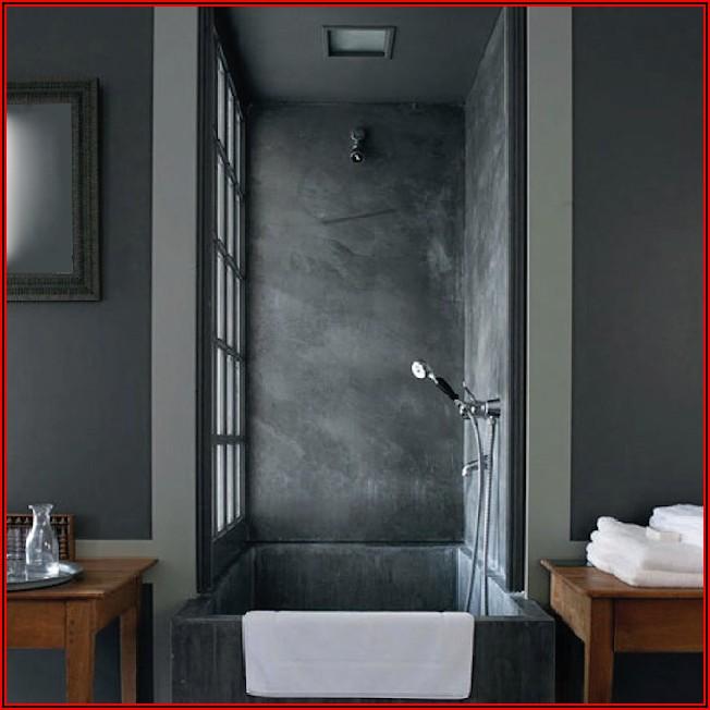 Badezimmer Klein Grau