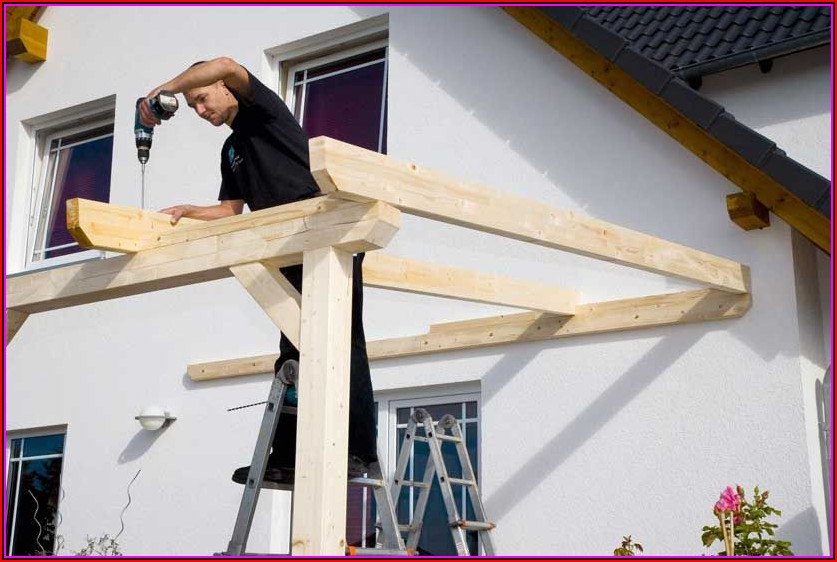 Bilder Terrassenüberdachung Holz