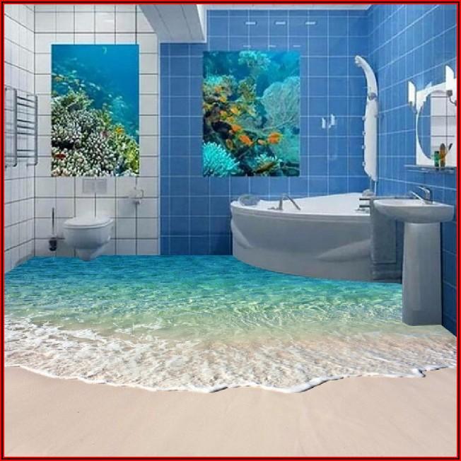 Deko Badezimmer Boden