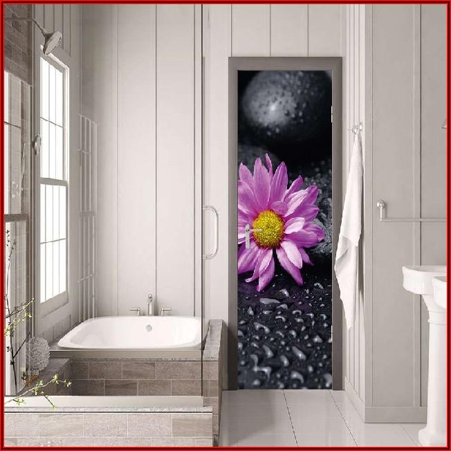 Deko Badezimmer Lila