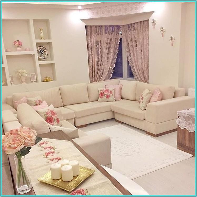 Dekoideen Wohnzimmer Rosa