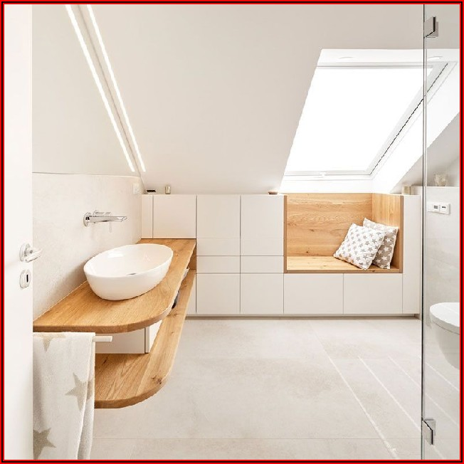 Dusche Kleines Bad Dachschräge