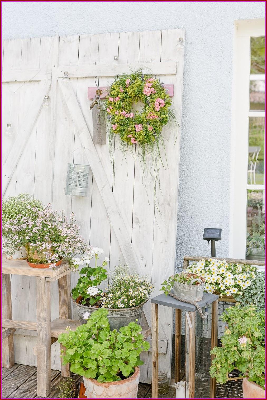 Garten Terrasse Deko