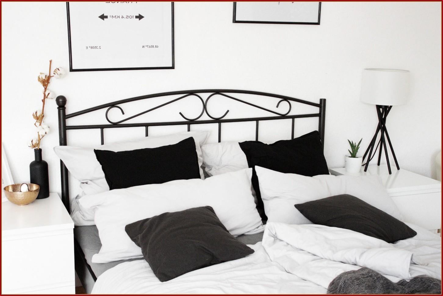 Ikea Schlafzimmer Bett Weiss