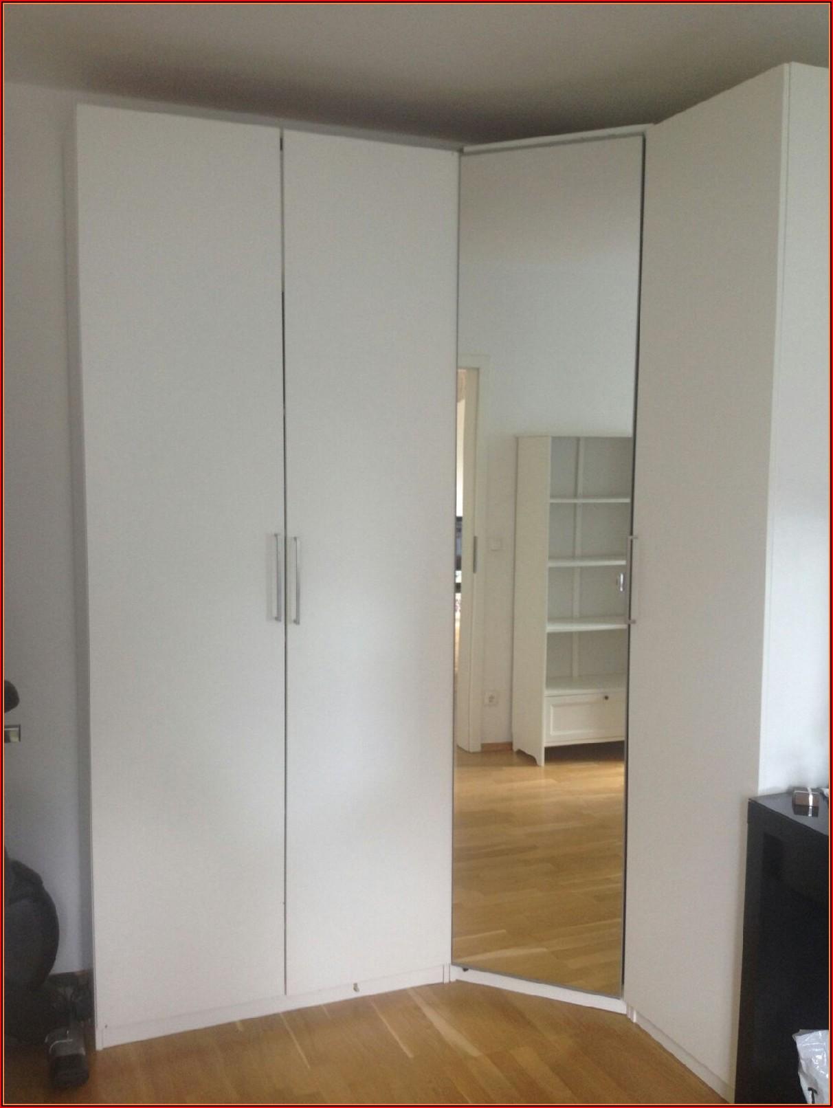 Ikea Schlafzimmer Schrank über Eck