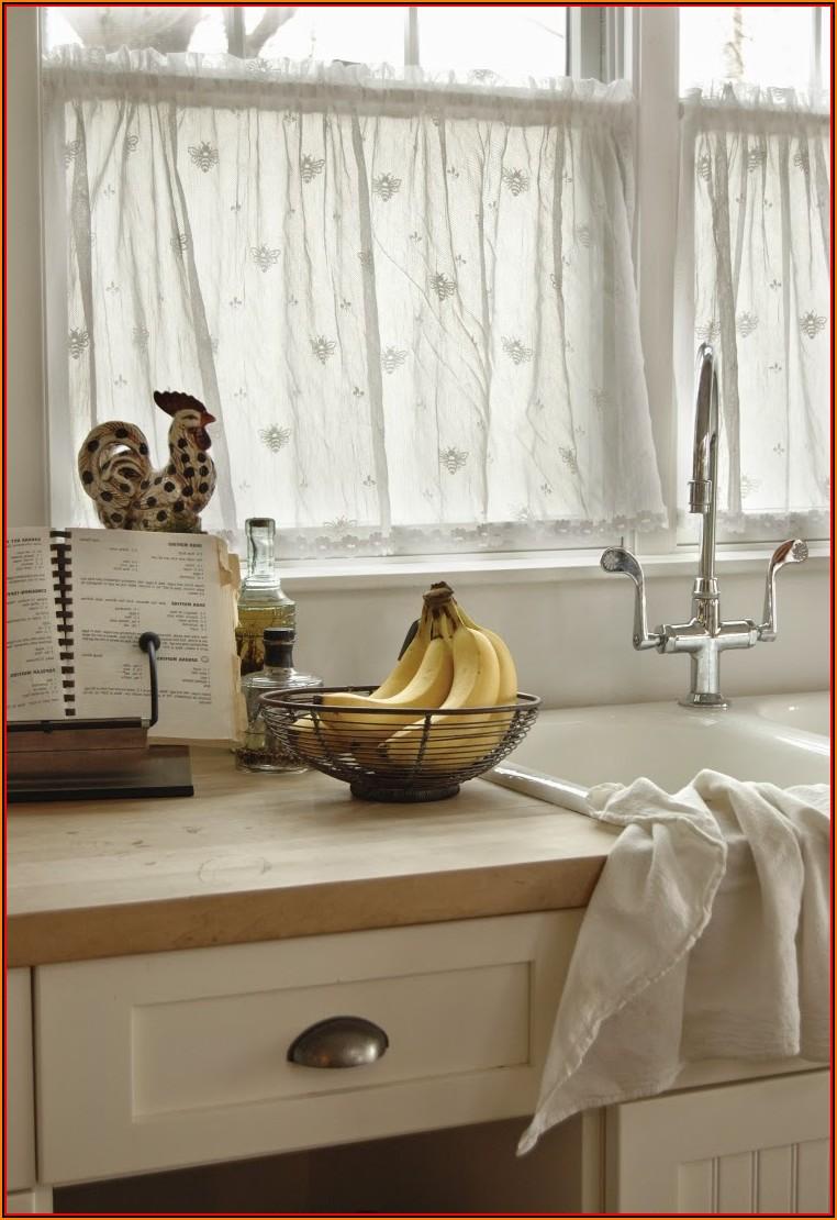 Küchengardinen Ideen Landhausstil